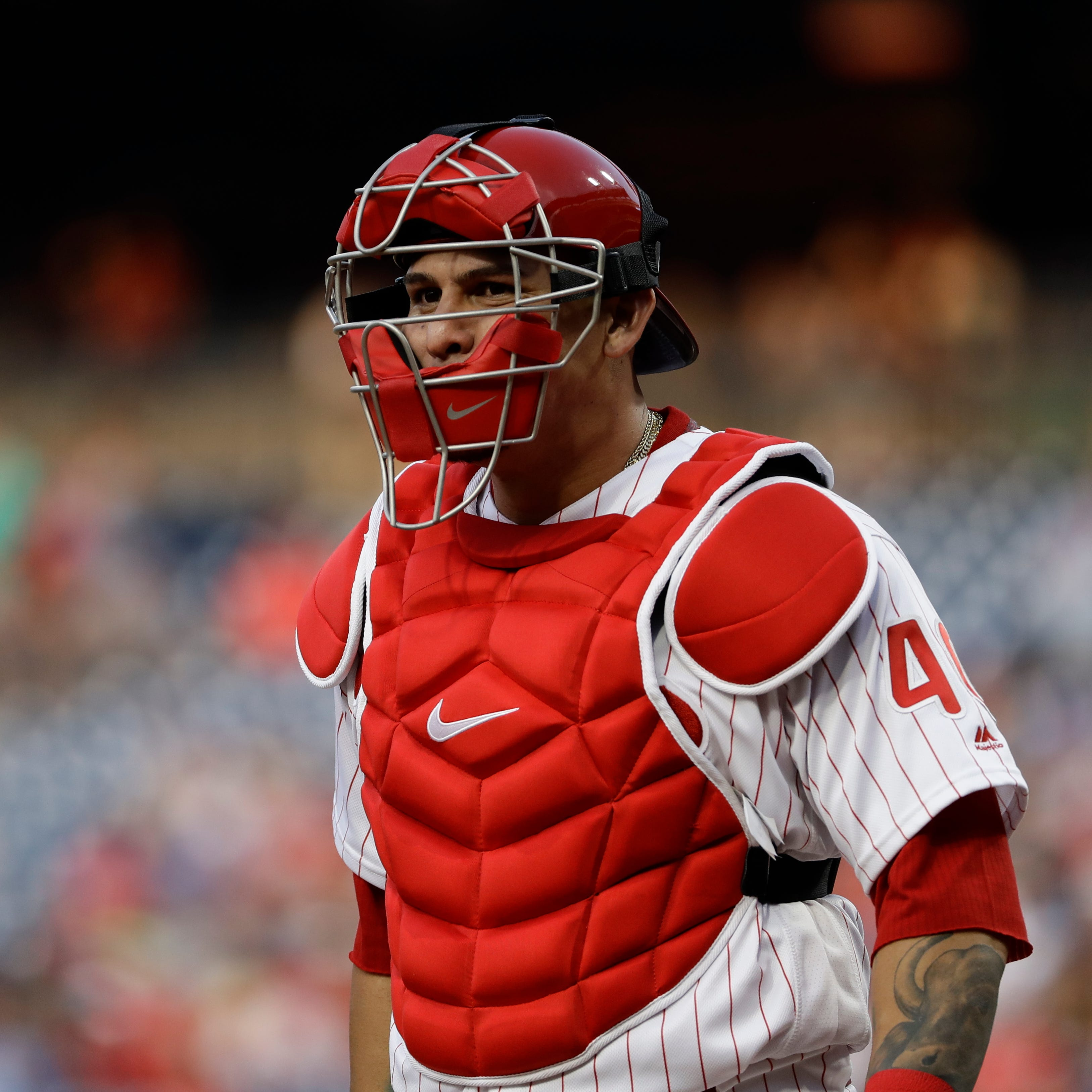 Brewers reportedly have meeting with free-agent catcher Wilson Ramos at winter meetings