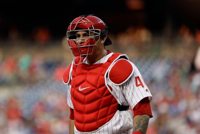 Catcher Wilson Ramos Played for the Tampa Bay Rays and Philadelphia Phillies last season. He made the American League all-star team.