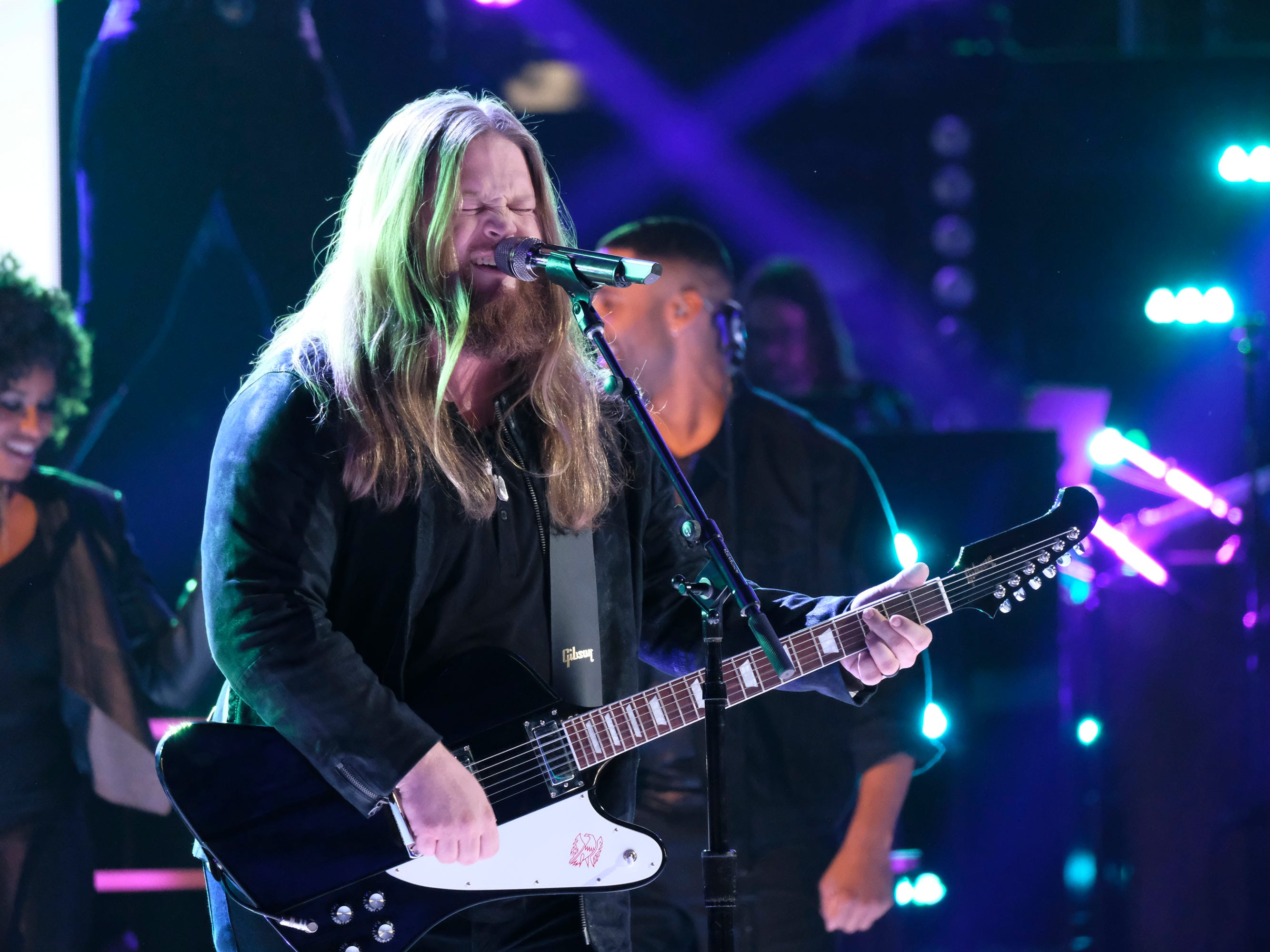 "Chris Kroeze covered ""Can't You See"" by the Marshall Tucker Band during ""The Voice"" semi-finals on Dec. 10."