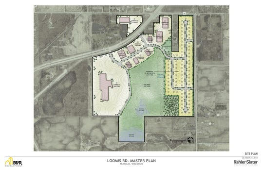 Bear Development is building on 145 acres along West Loomis Road south of West Ryan Road. The development will include industrial/commercial, residential and more.