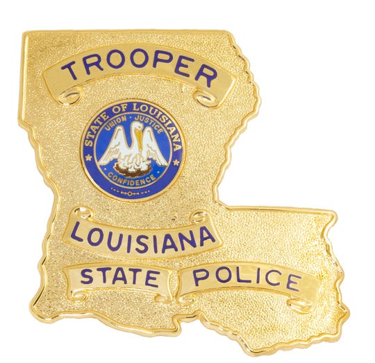 2018 Louisiana State Police, LSP, Badge logo