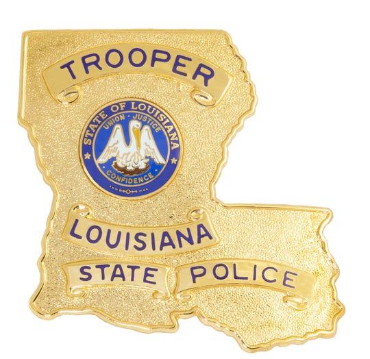 2018 Louisiana State Police, LSP, Badge logo