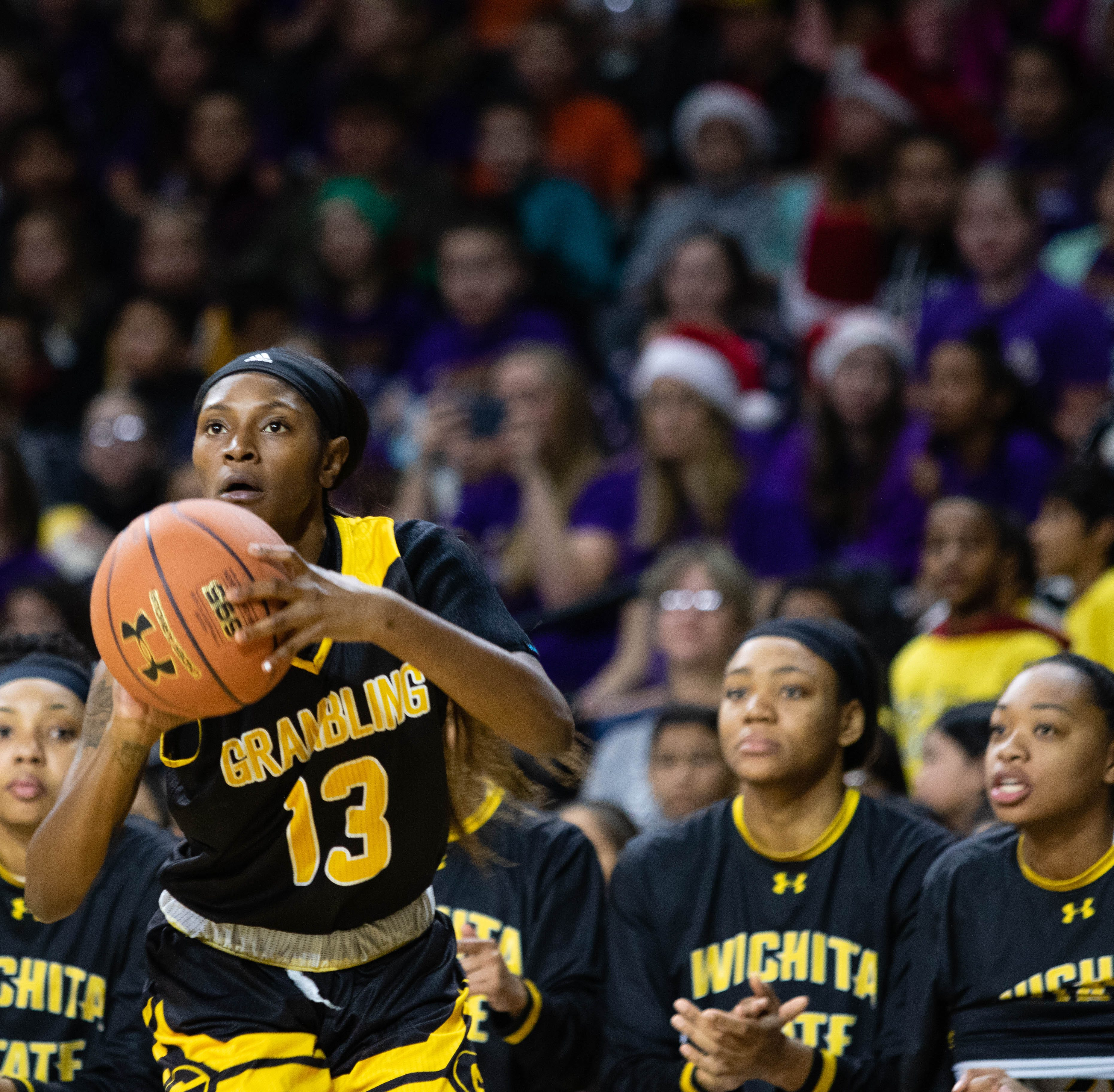 Grambling State women fall short at Wichita State