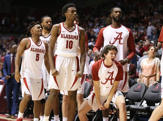 Ncaa Basketball Arizona At Alabama