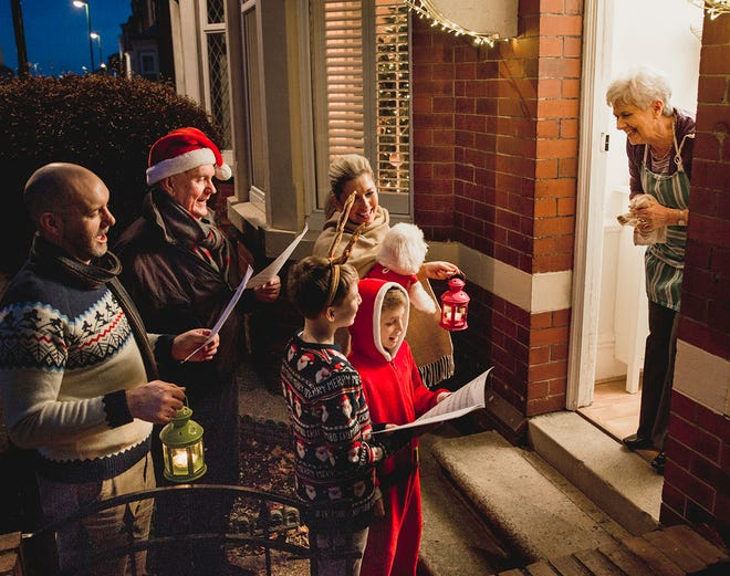Fairview residents can bring carollers to their door this Saturday with donation to Fairview Community Theater group.