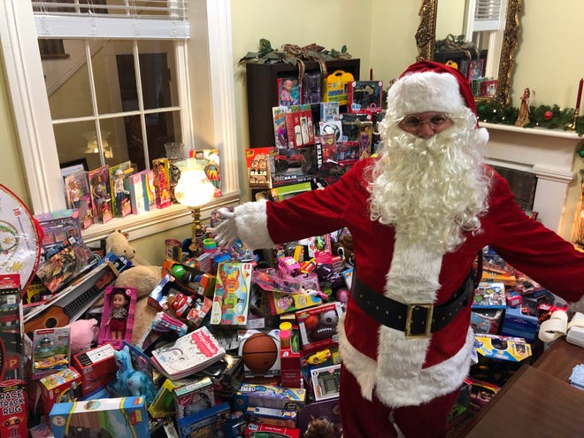 The countywide toy drive collected 1,500 toys for Christmas Anonymous and the Ark.