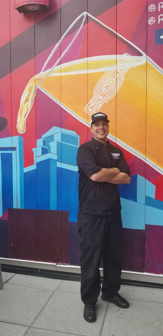 Martin Piotto is executive chef at Rock Bottom Restaurant and Brewery in Nashville.