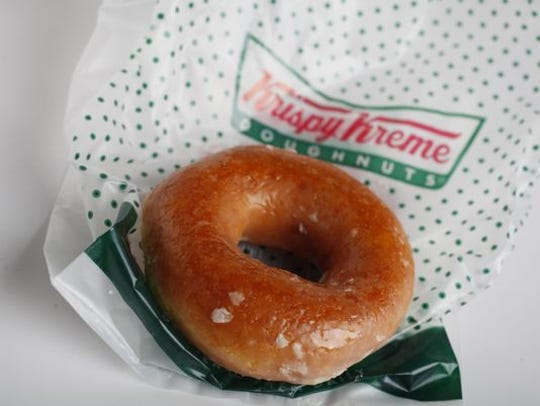 Krispy Kreme wants to giveaway 1 million doughnuts for free on National Doughnut Day, June 7, 2019.