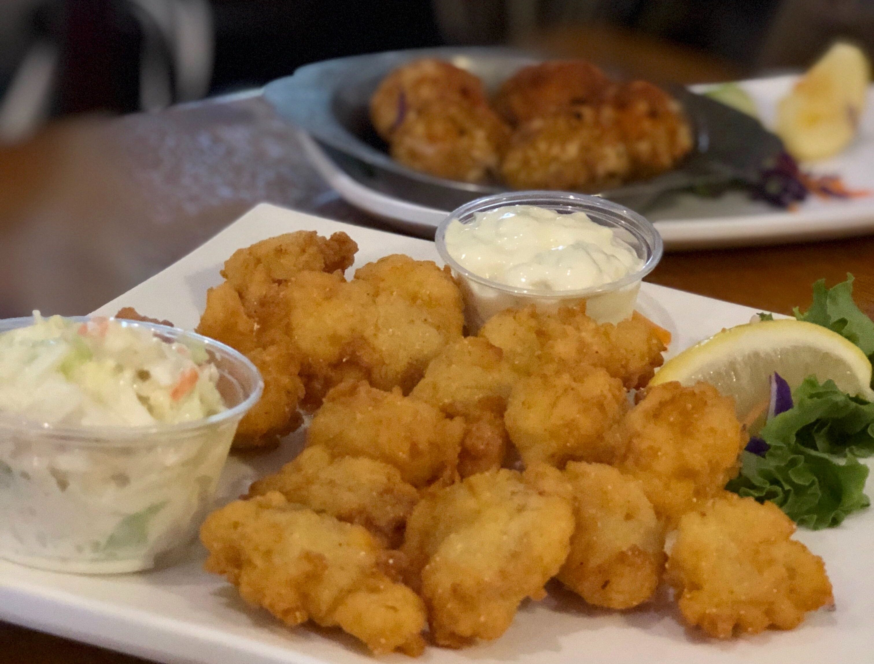 A half-order of gator nuggets at  Alice Sweetwater's Bar & Grille in Naples.