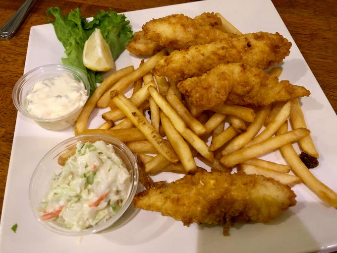 Grouper and chips, an Alice Sweetwater's Bar & Grille favorite.