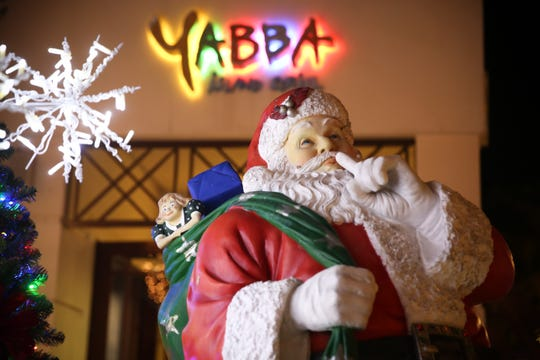 Yabba's Island Grill in downtown Naples will be open 4:30-9:30 p.m. Christmas Eve.