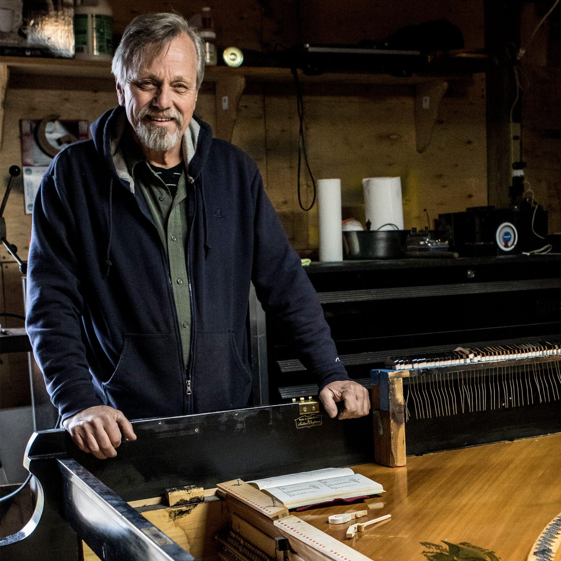 Aces of Trades – David Chadwick piano tuner
