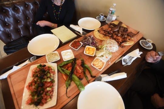 Galata Sharing platter  photo of Galata Sharing Platter at Galata in Paterson on 08/01/18 .