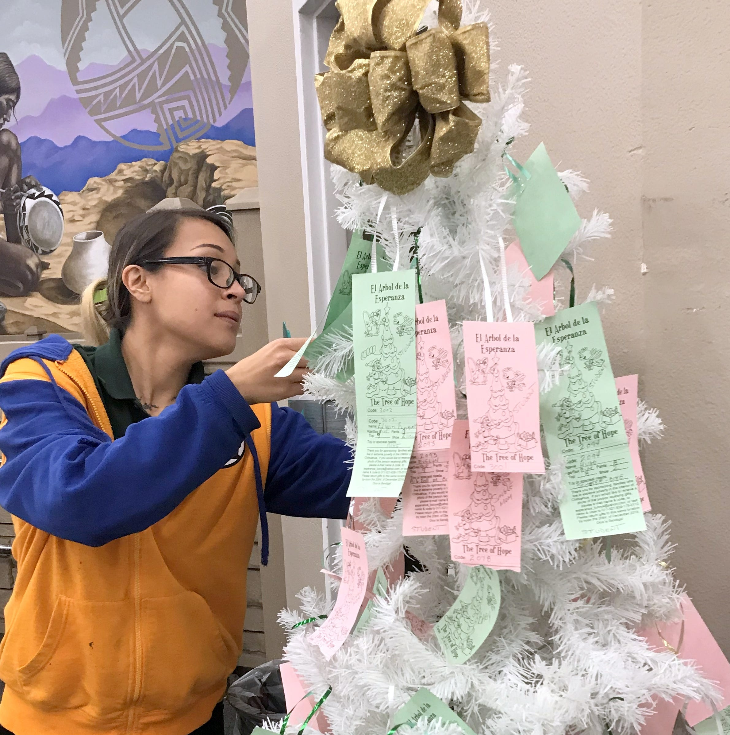 Visit the Tree of Hope before Christmas in Deming and Columbus, NM