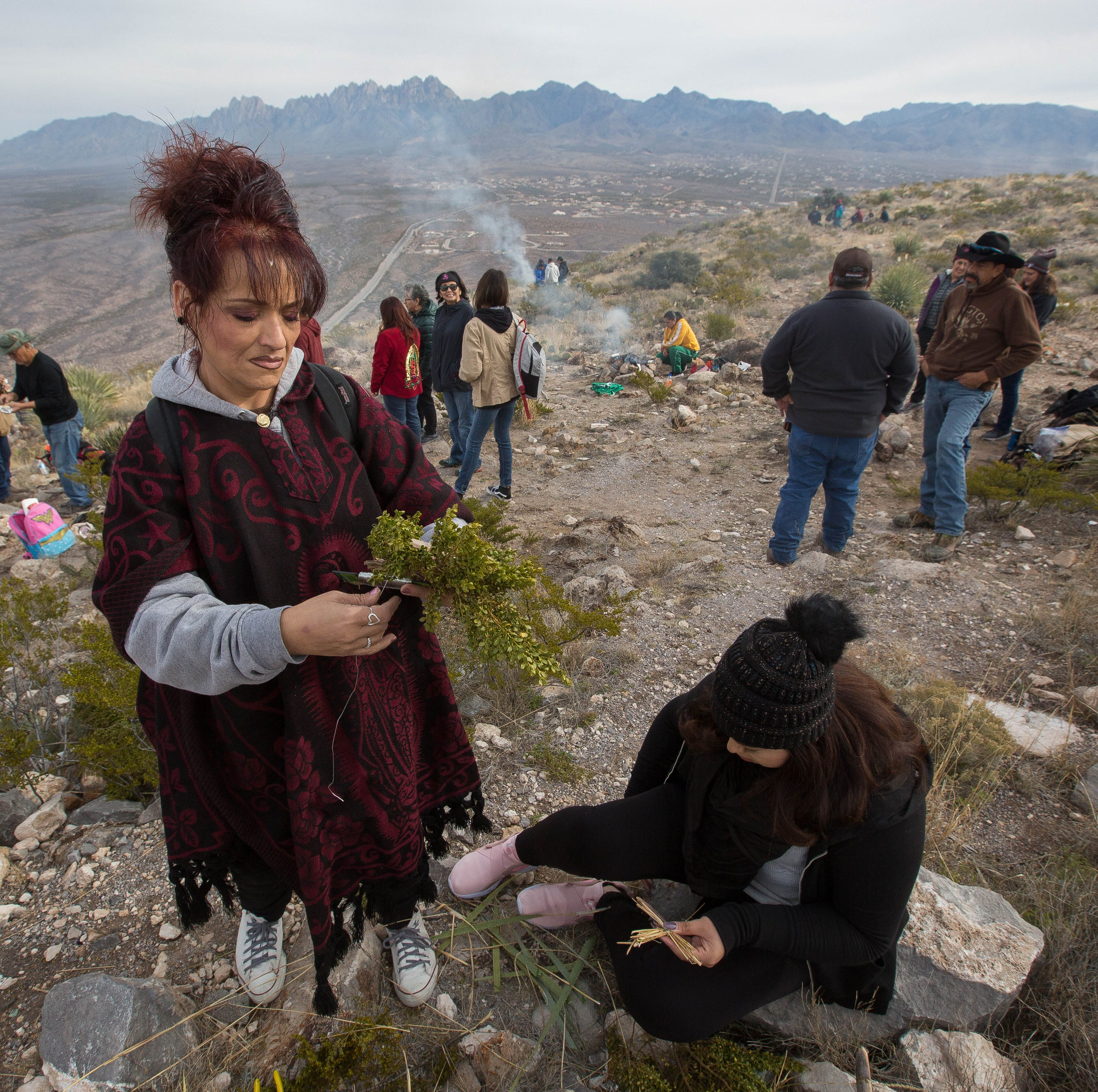 Pilgrims cross Las Cruces to climb Tortugas Mountain in 108th annual procession