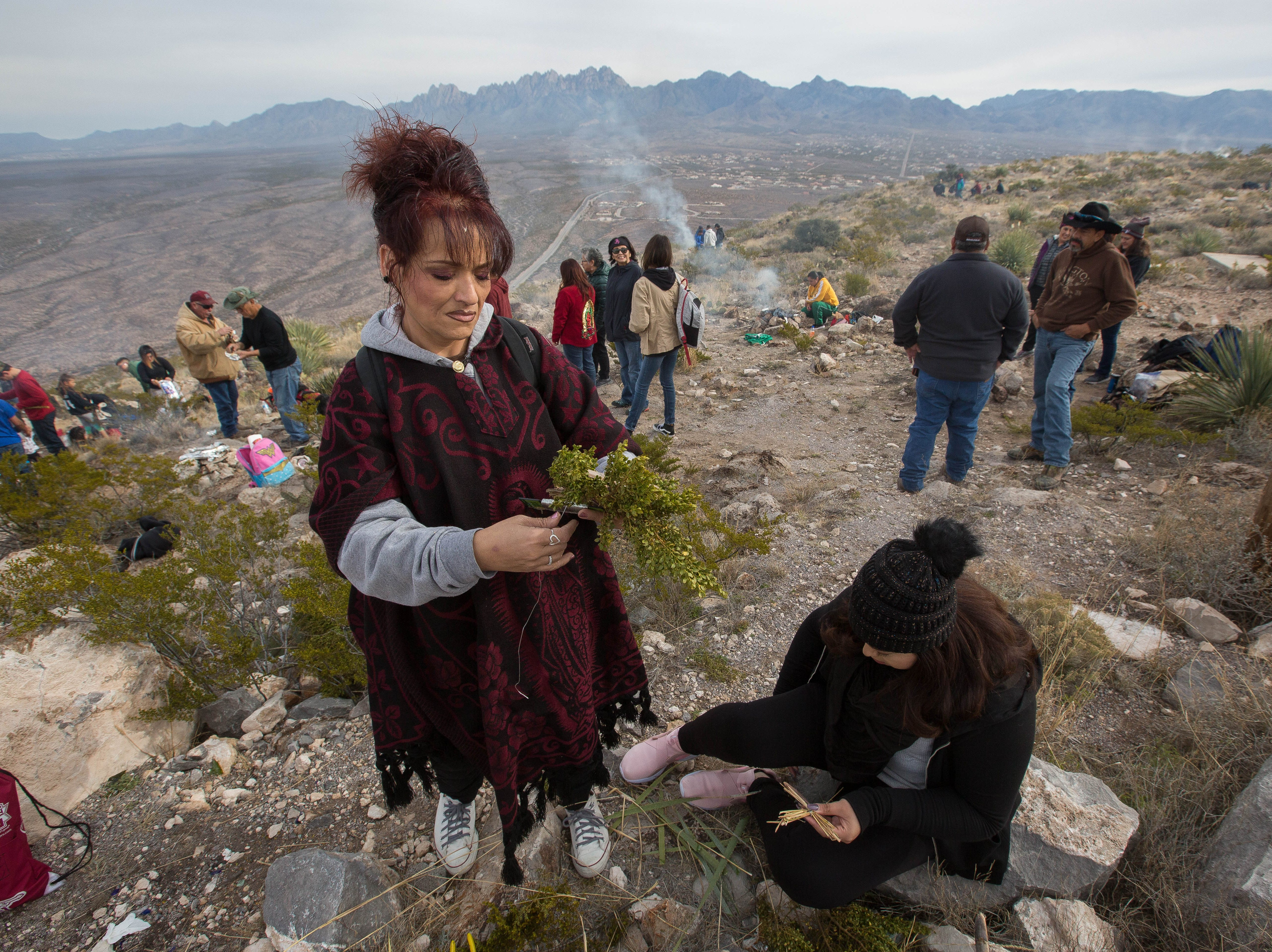 Follow the pilgrims' journey from pueblo to mountaintop