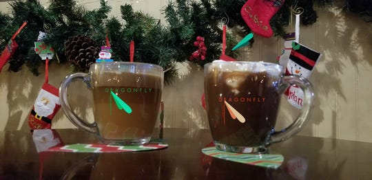 Holiday drinks at Dragonfly, 139 Main St.