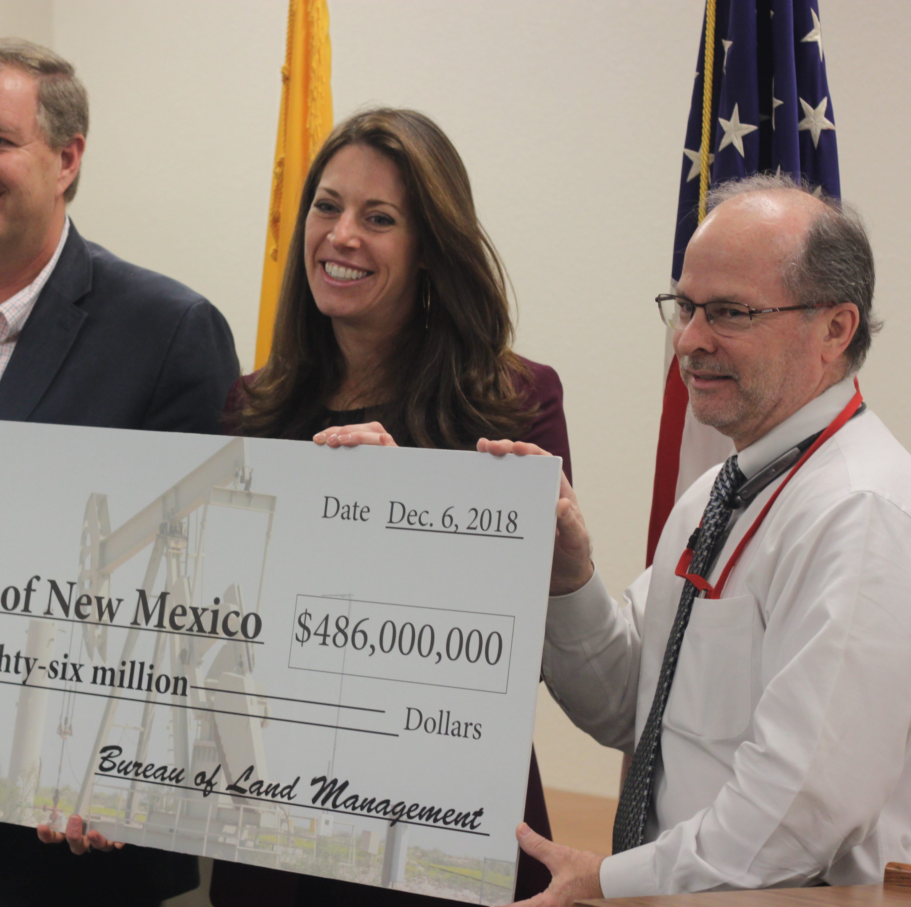 BLM: New Mexico receives $486M for lease sales near Carlsbad