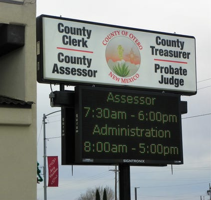 County Clerk Sign