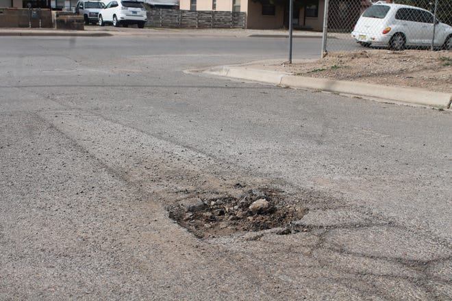 """The City of Alamogordo had made it easier to report potholes via the """"Pothole Patrol"""" system on the City's website."""