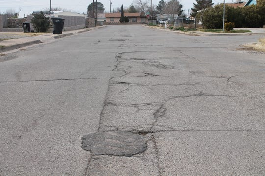 City crews repair an average of 500 potholes per month, though the number can be as high as 800, City Public Works Director Larry Garner said.