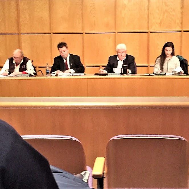 Despite PPO, Richards back at South Lyon City Council table sitting near accuser