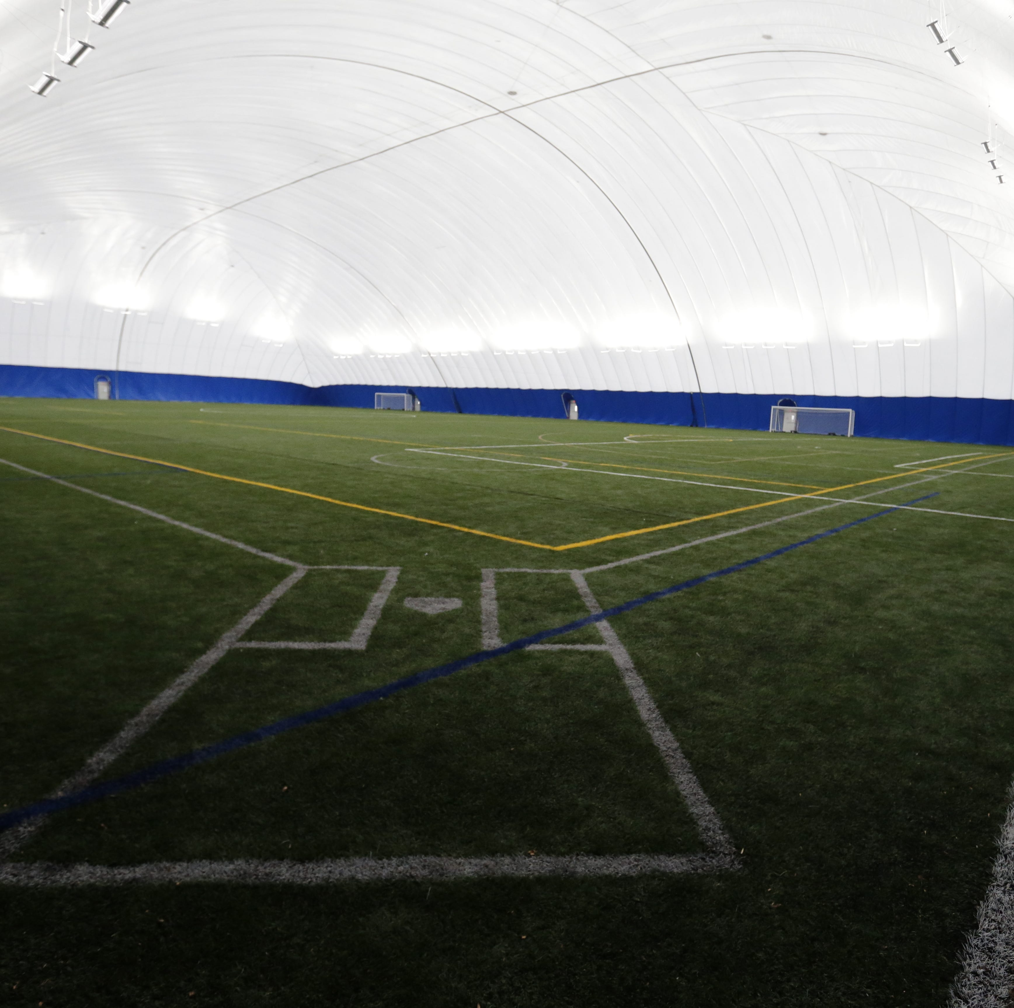 UWO Rec Plex seasonal dome offers year-round athletic events for students, community