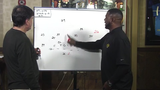 Former Packers All-Pro safety LeRoy Butler and JS reporter Tom Silverstein break down Bashaud Breeland pick-6 against the Falcons and diagram the blocking on a Packers run play.
