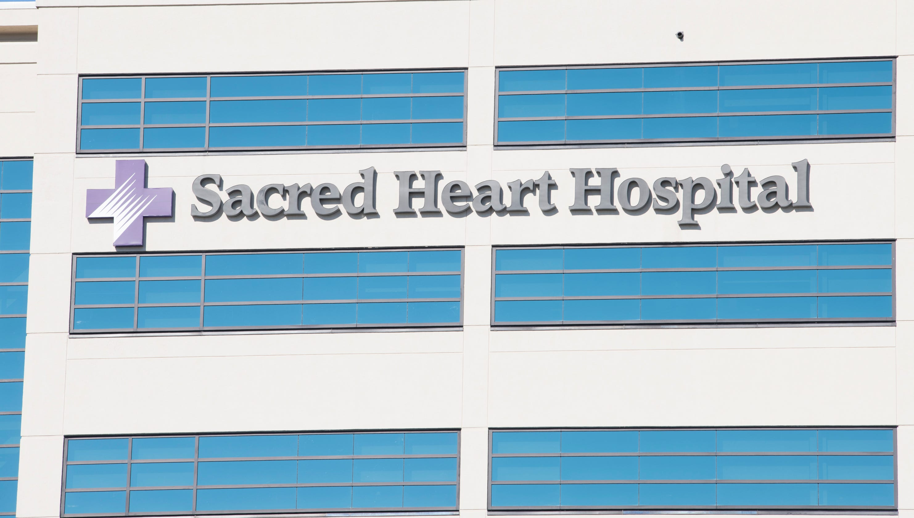 Sacred Heart Hospital near top of Florida for childbirth