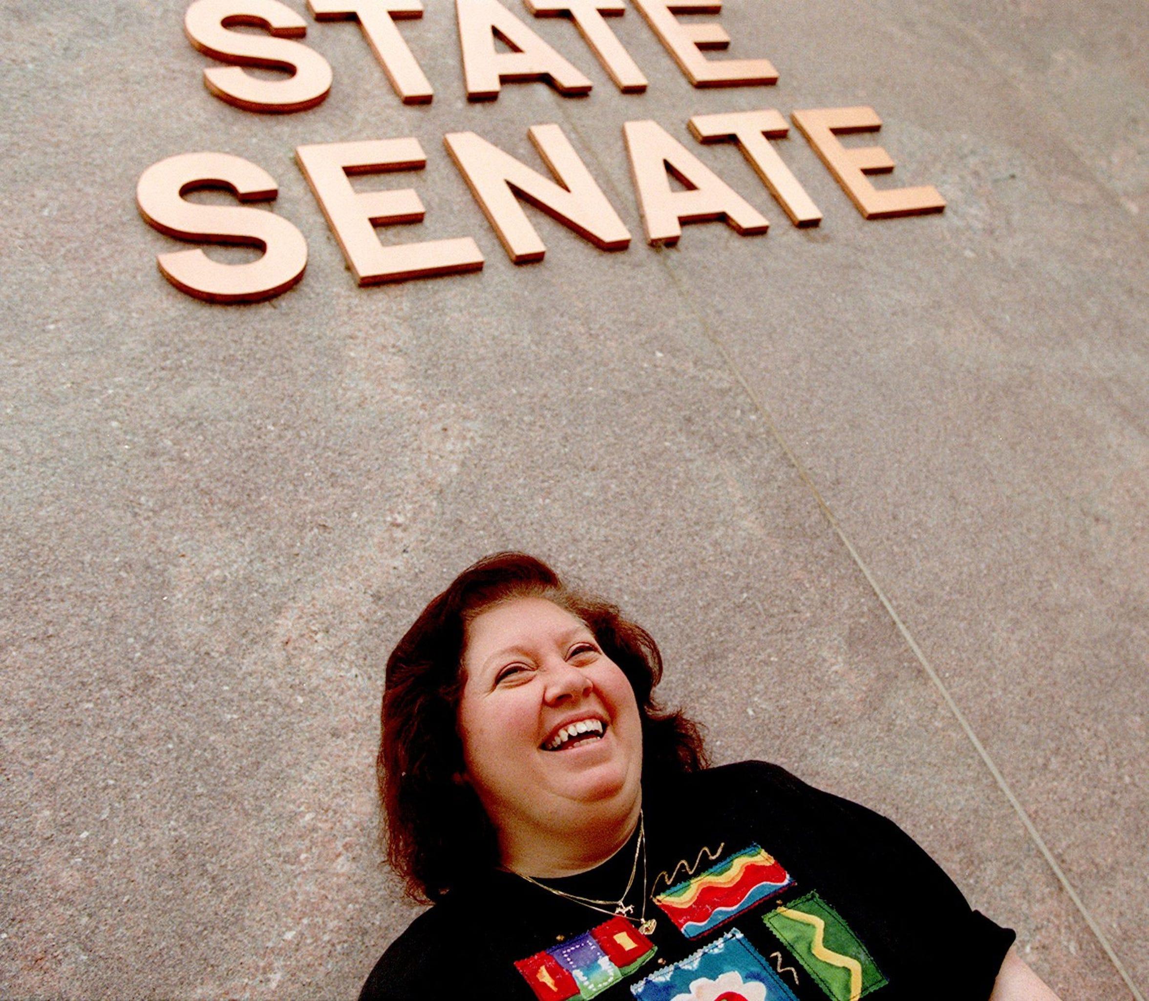 Mary Hartley, former state legislator, pushed for greater regulation of charter schools.
