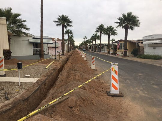 Riviera Mobile Home Park in Scottsdale has been without gas for over a month after new state rules found that the park was not in compliance.
