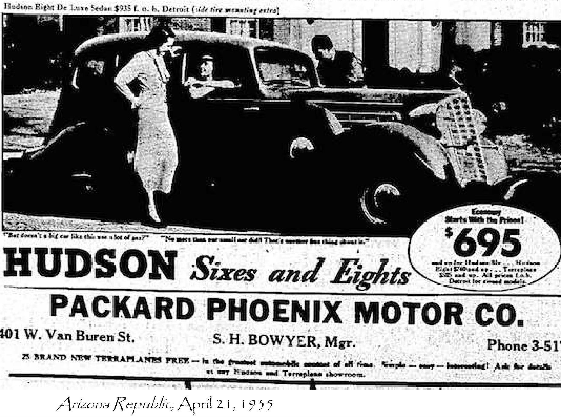 The Van Buren, now a concert and event venue, was once Phoenix Motor Co.