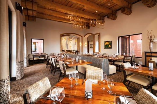 The dining room at Ko'Sin, Sheraton Grand at Wild Horse Pass Resort & Spa.