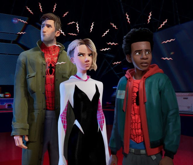 "Spidey senses are tingling in ""Spider-Man: Into the Spider-Verse."""