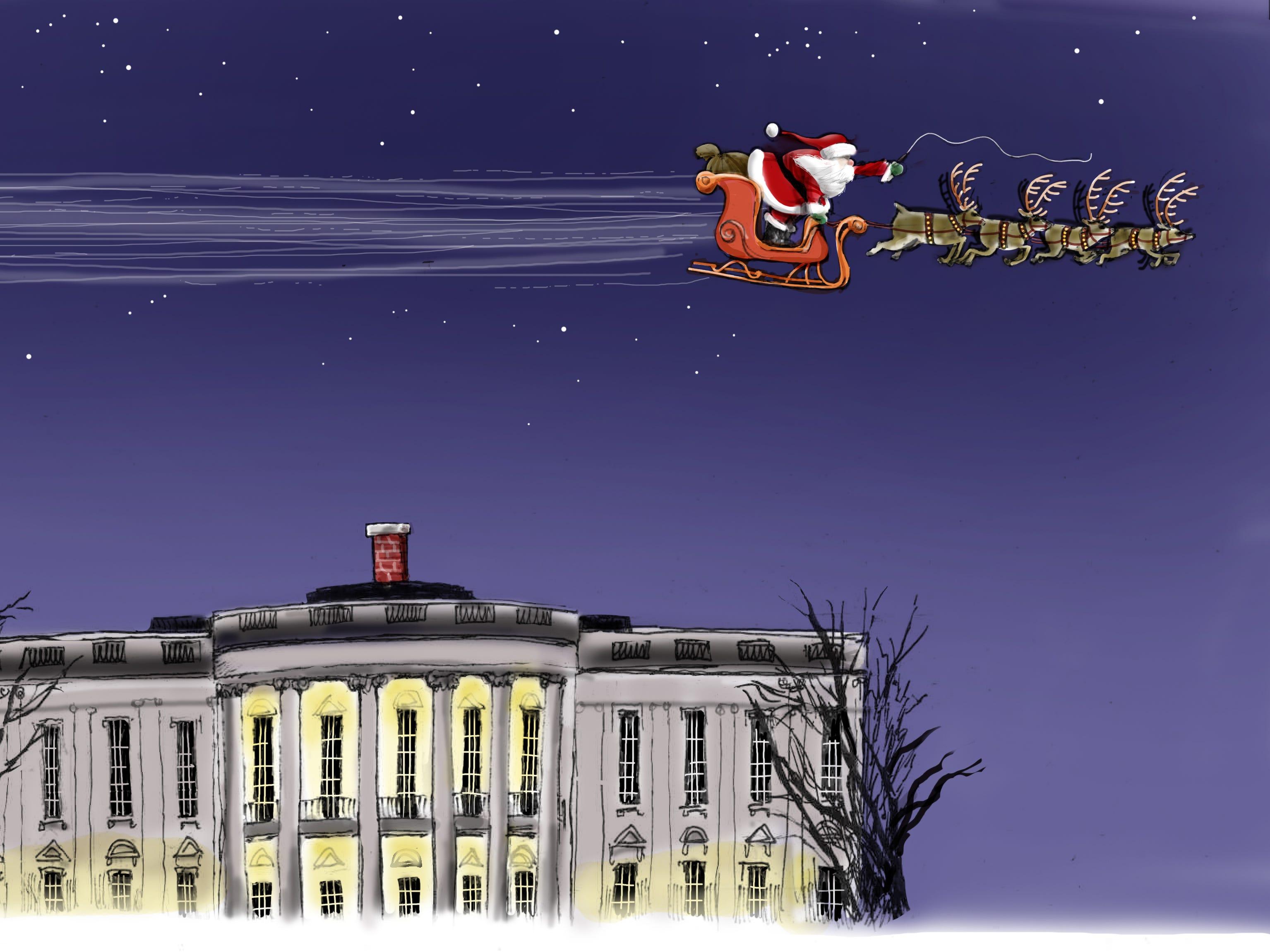 Cartoon for Dec. 11, 2018.