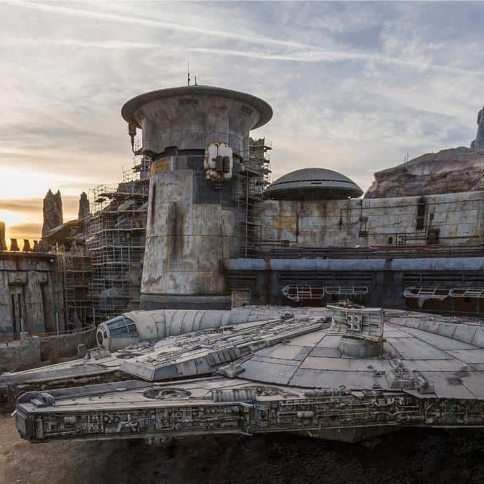 Sneak peek: The new Millennium Falcon at Disney's Star Wars land