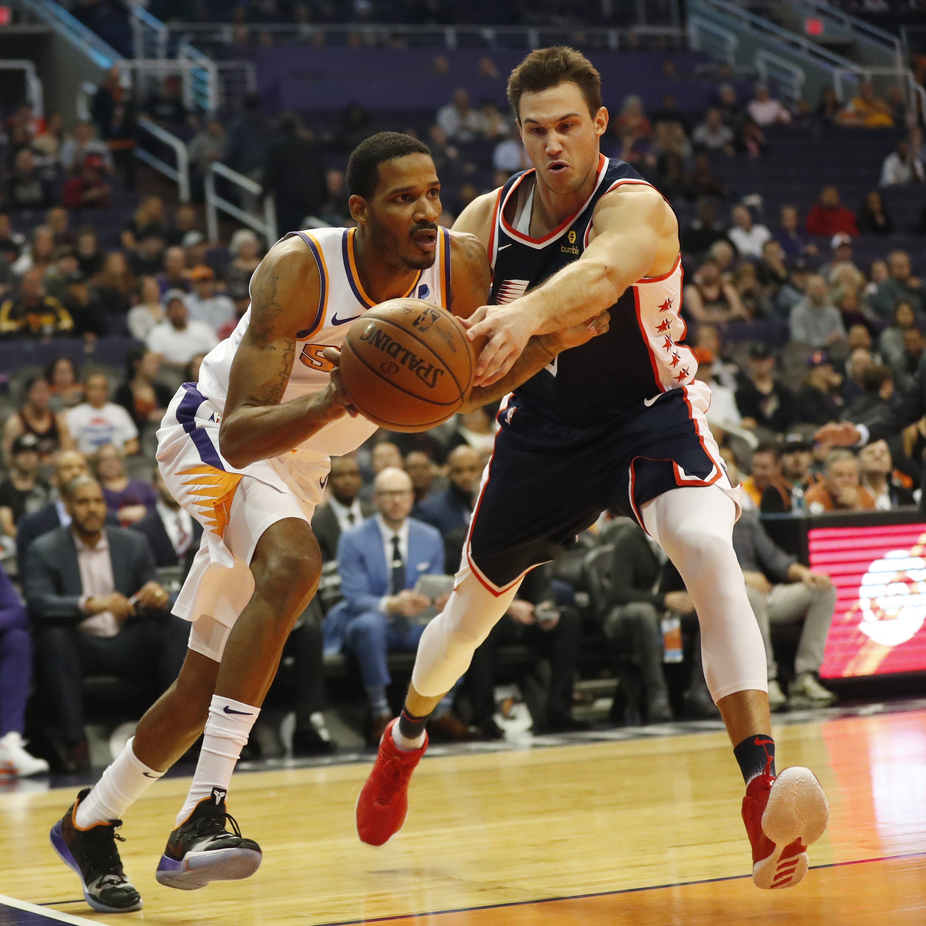 The Suns tried, but were denied the Lakers' young core for Trevor Ariza, report says
