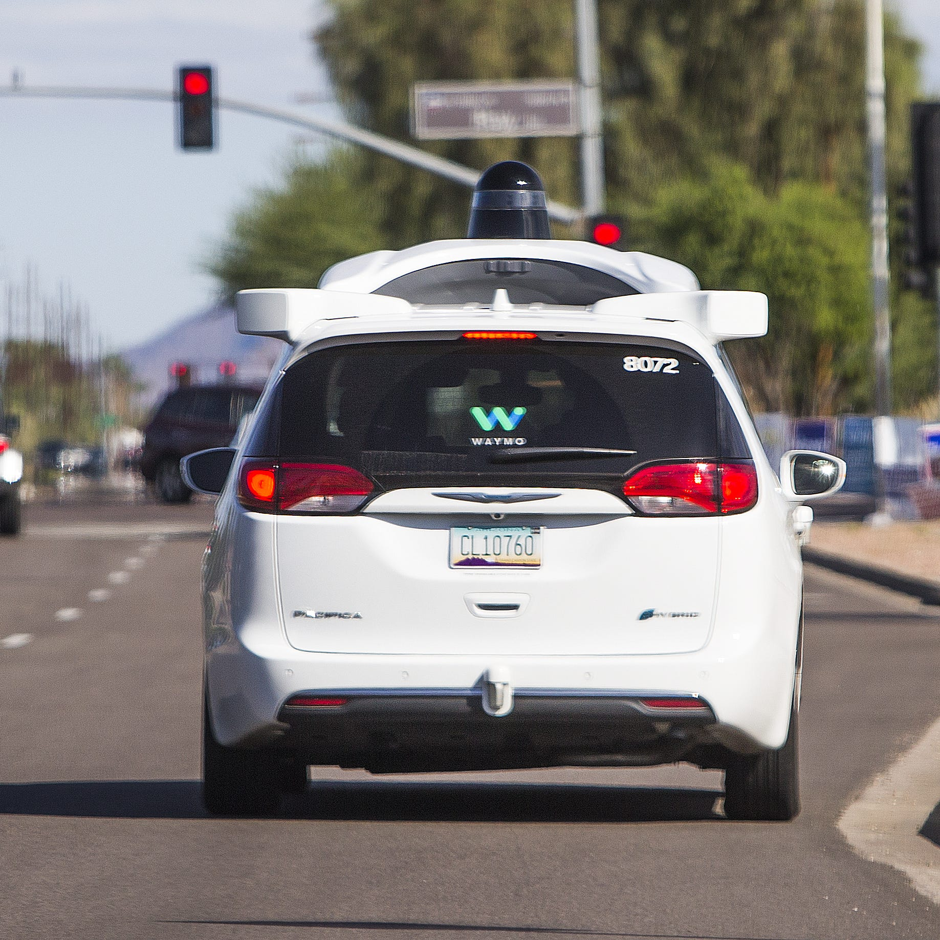 Waymo self-driving vans have been targeted on...