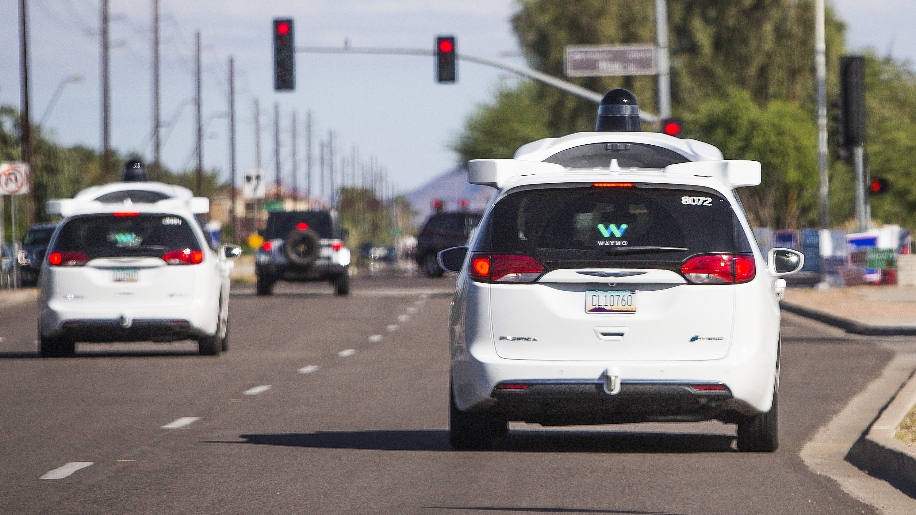 A Slashed Tire Pointed Gun Bullies On The Road Why Do Waymo Self Driving Vans Get So Much
