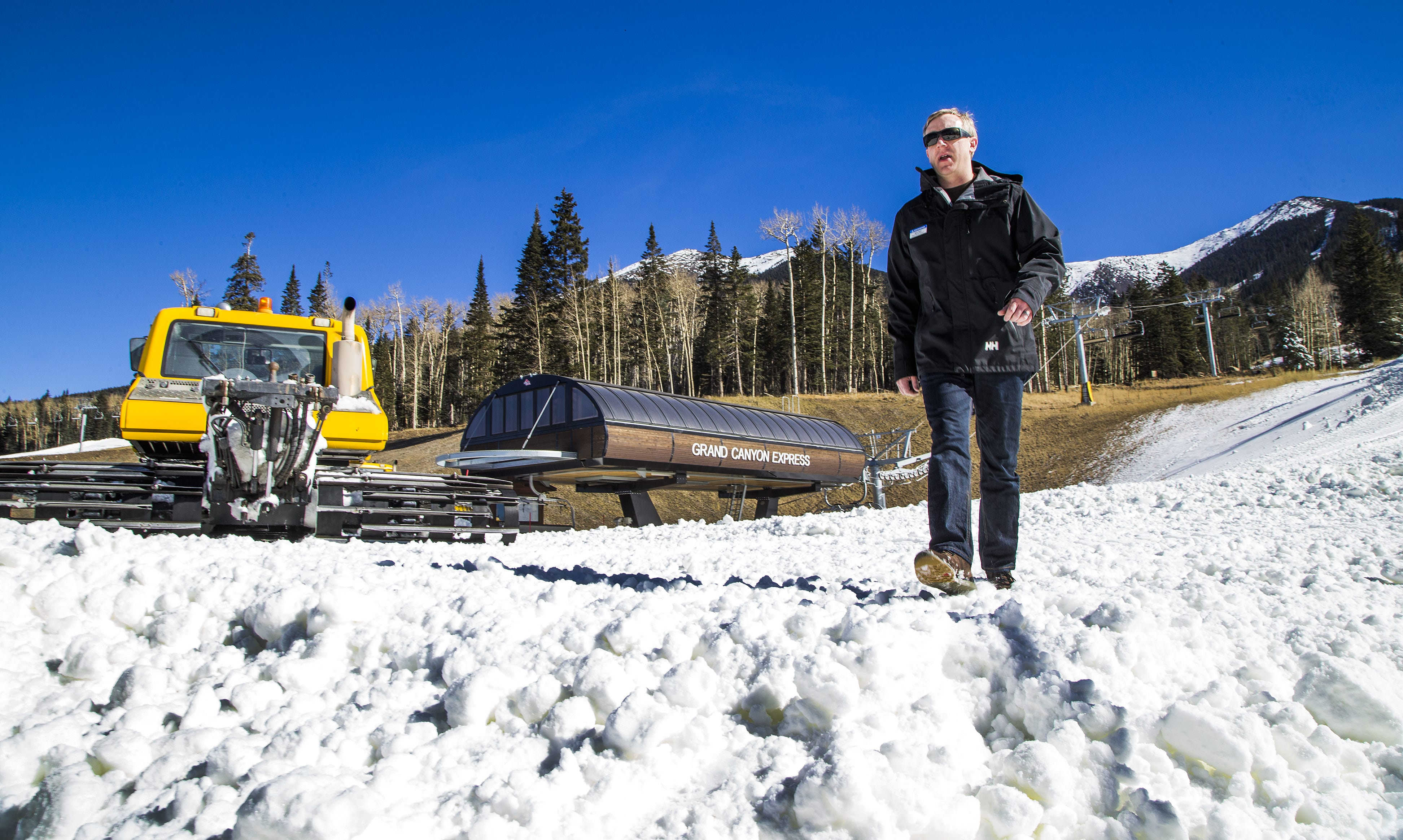 Winter helps give Flagstaff an identity. What happens when it's not so wintry?   Arizona Central