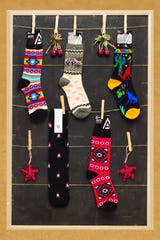 Grab a pair of southwestern inspired socks ($7.50) at Indigenous, near gates D1-D8 in Terminal 4 and post-security in Terminal 2