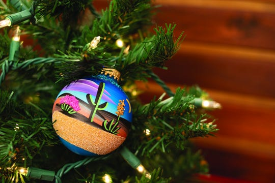Arizona Christmas ornaments ($6.99-$20) are available at Roosevelt Row, pre-security in Terminal 4, and Incredibly Arizona, post-security   in Terminal 3