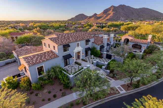 Gene D. Goldberg purchased this mansion in Scottsdale's The Parks at Silverleaf community.