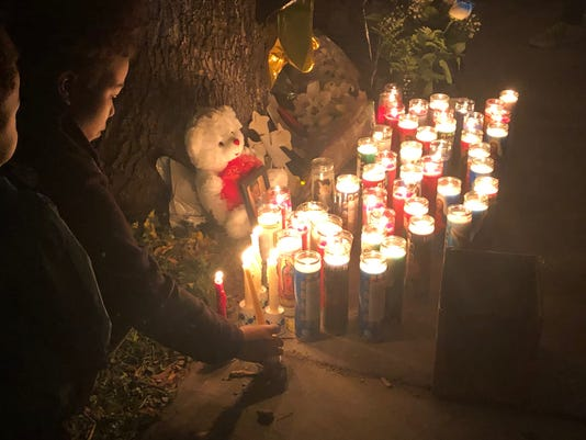 Vigil for Keshawn Hubanks