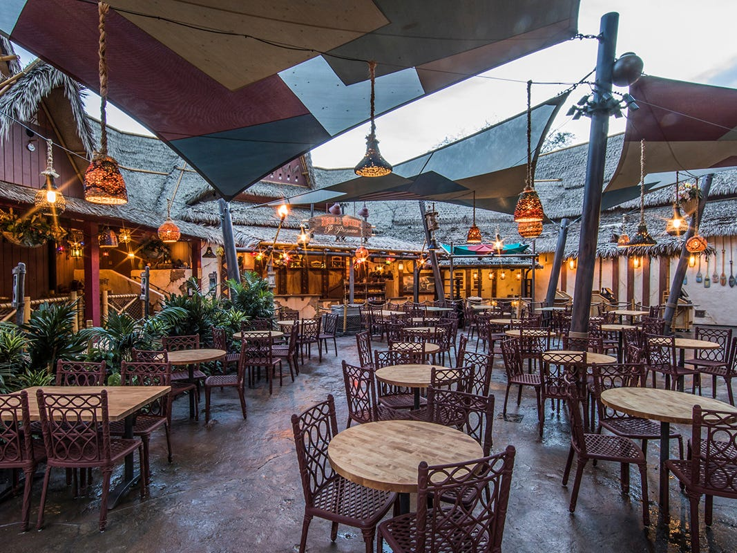 Located on the shores of Adventureland at Disneyland Park, The Tropical Hideaway will be the destination for extraordinary worldly eats when it opens. Menu items include warm steamed bao buns, chilled ramen salad, Sweet Pineapple Lumpia, Dole Whip and more.