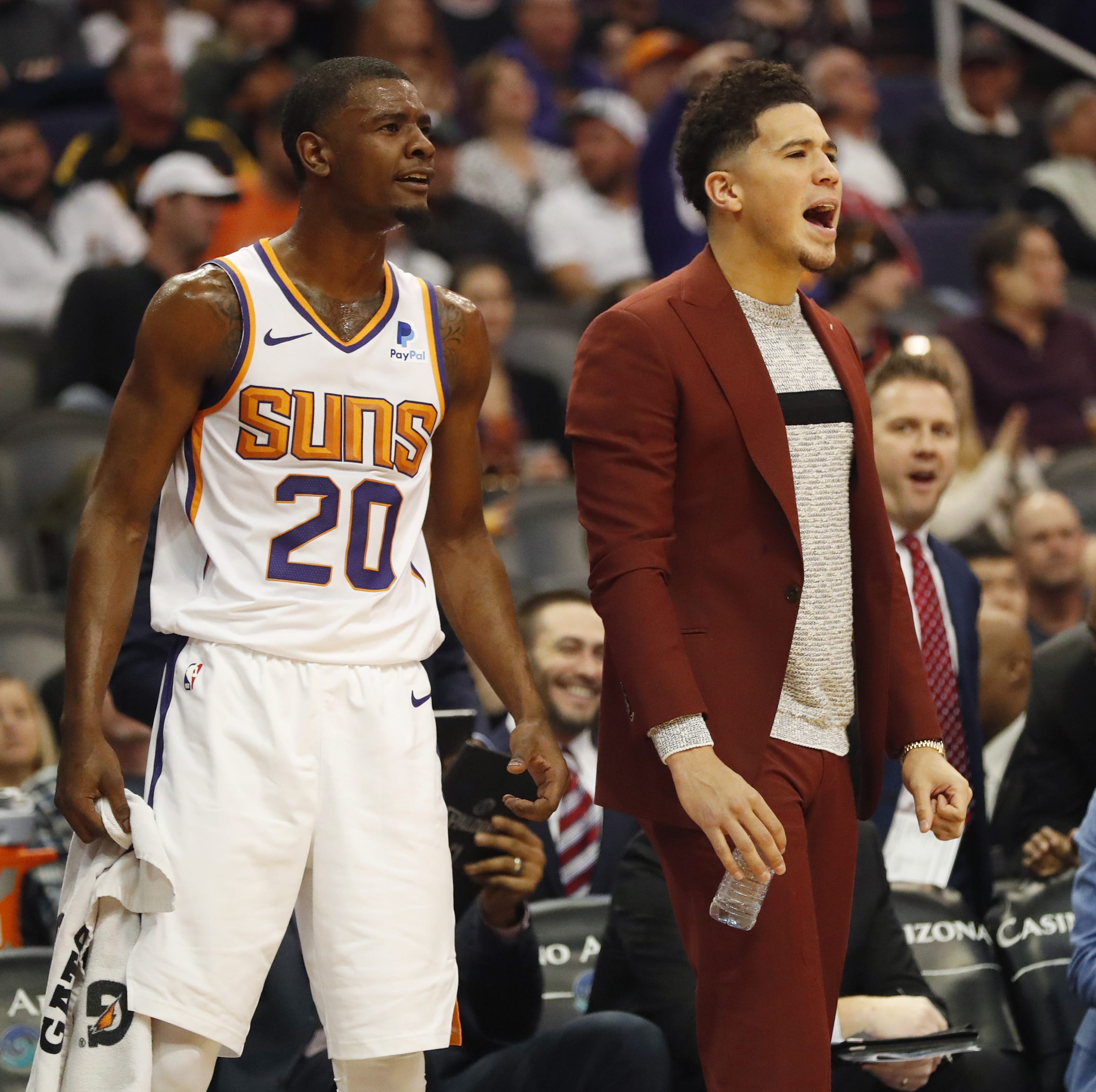 'There's a very good chance' Suns' Devin Booker will play against Timberwolves