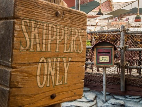 Located on the shores of Adventureland at Disneyland Park, The Tropical Hideaway will be the destination for extraordinary worldly eats when it opens. One way to reach it is via the Skipper's Walk from the Jungle Cruise.