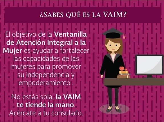 ¿Qué es la Ventanilla de Atención Integral a la Mujer (VAIM)?