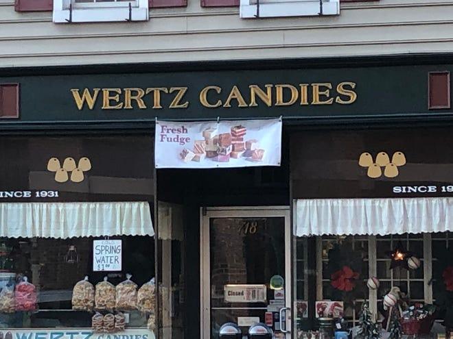 It takes Wertz Candies two days to make their famous opera fudge.