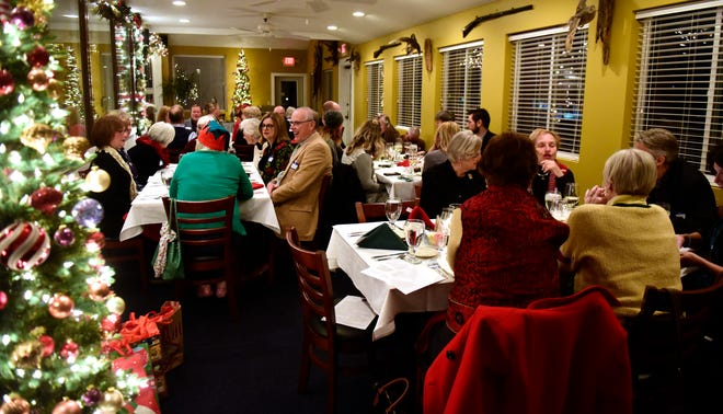 The Greater Port Clinton Area Arts Council held its annual Christmas dinner at 1812 Food & Spirits in Port Clinton on Monday evening.